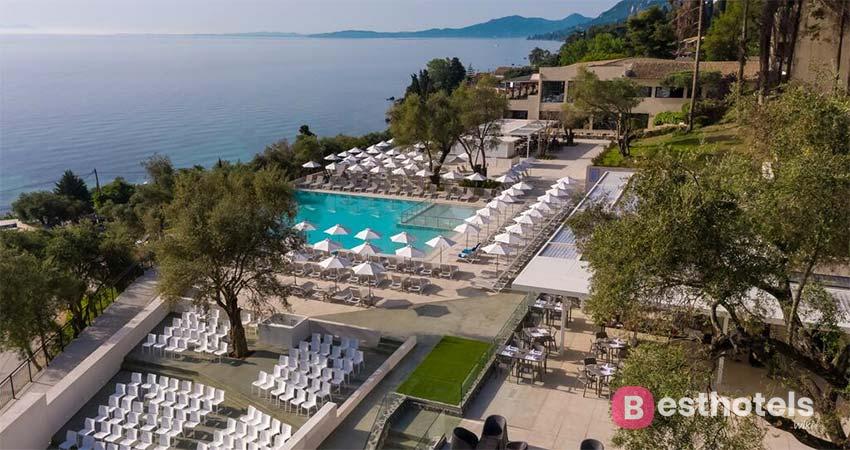 The best complex in Corfu - Aeolos Beach