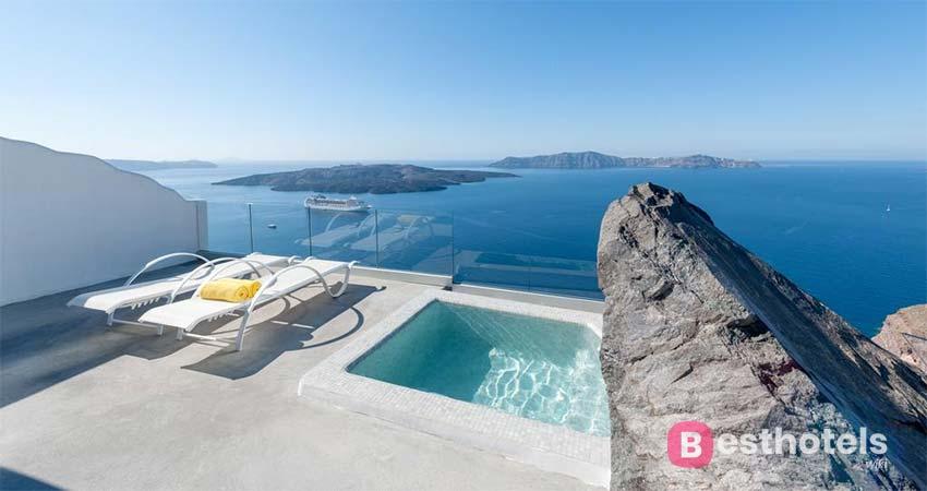 Роскошное место для отдыха на Санторини - Keti Hotel