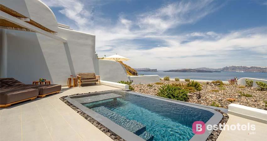 Изящный курортный комплекс Санторини - Neptune Luxury Suites