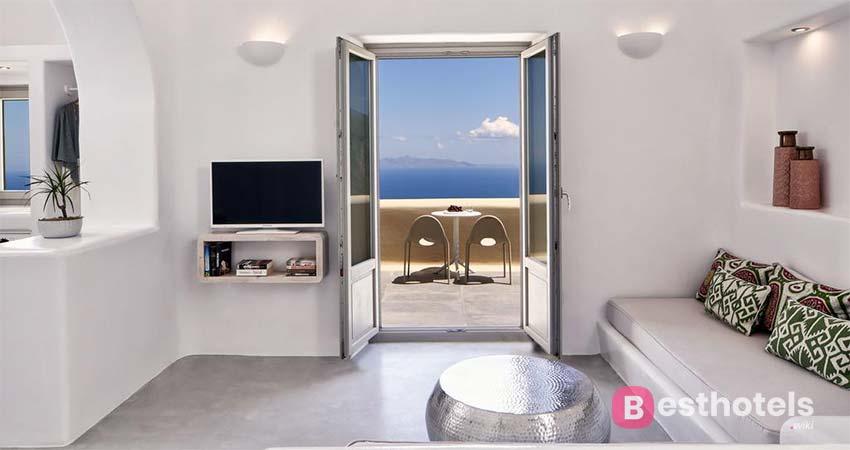 Комплекс премиум класса на Санторини - Skyfall Suites