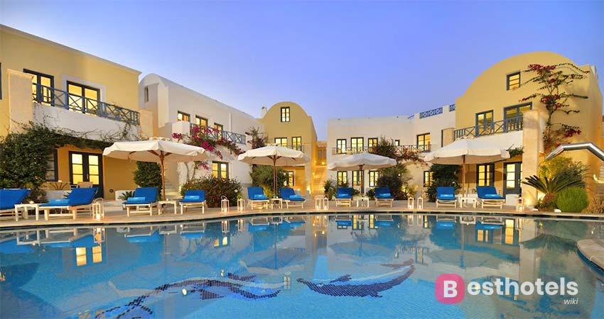 Наилучший комплекс Санторини - Tamarix Del Mar Suites
