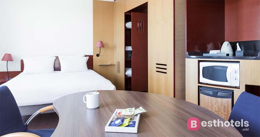 Комфортабельное место для отдыха - Novotel Suites