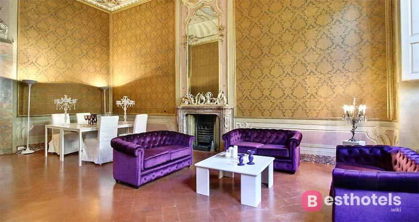 Идеальное место для того, чтобы отдохнуть во Флоренции - Palazzo Tolomei