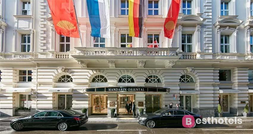 Munich luxury complex - Mandarin Oriental