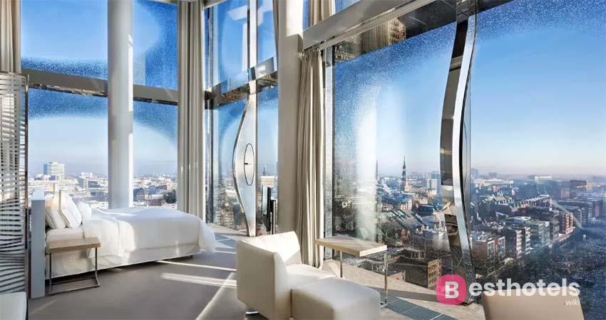 Удивительное место для отдыха в Гамбурге - The Westin Hamburg