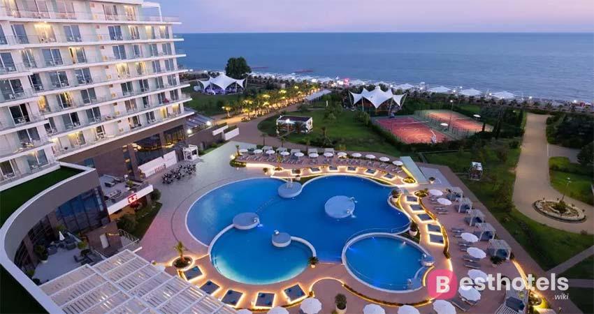 Delightful complex in Sochi - Radisson Collection Paradise Resort
