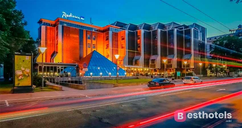 Живописный комплекс Риги - Radisson Blu Ridzene