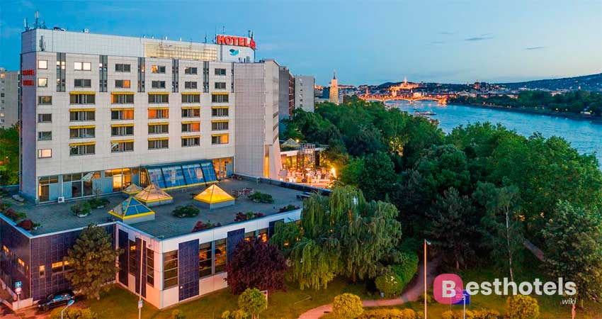 Люксовый комплекс Будапешта - Danubius Hotel Helia