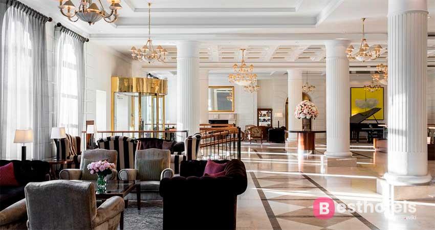 The regal complex of Vilnius - Grand Hotel Kempinski Vilnius
