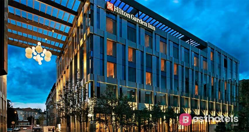 Wonderful hotel complex in Vilnius - Hilton Garden Inn Vilnius City Center