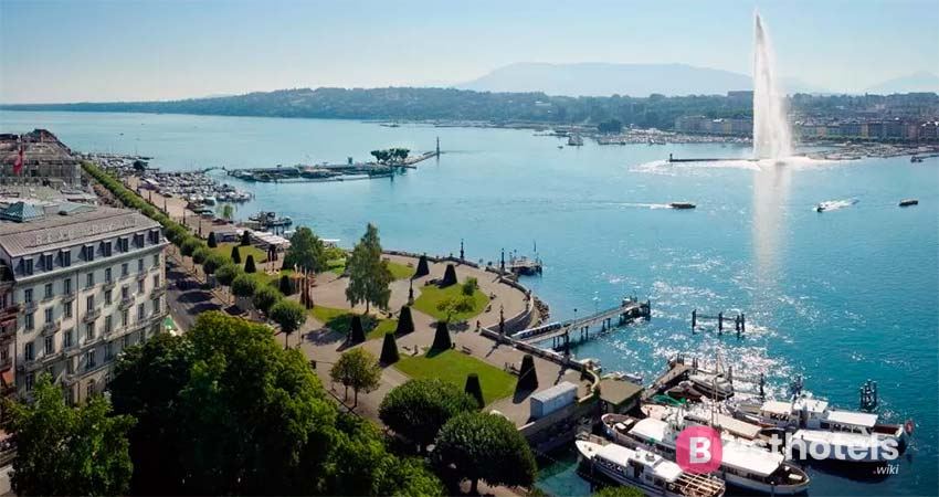 Luxury establishment in Geneva - Beau-Rivage