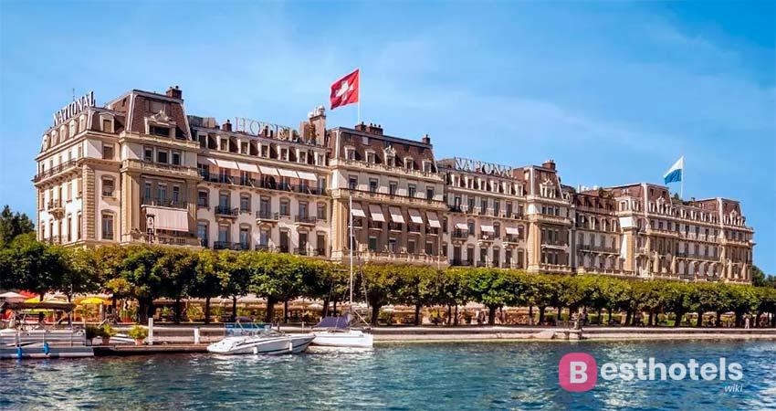 Наикрасивейшее место в Люцерне - Grand Hotel National