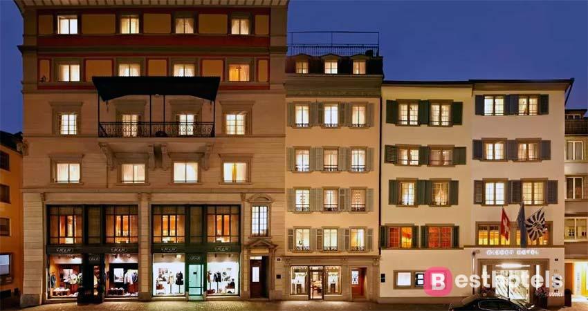 Никрасивейшее место в Цюрихе Widder Hotel