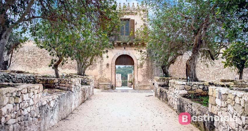 Dimora delle Balze - гостиница премиум класса на Сицилии