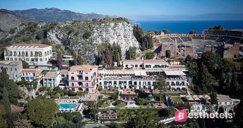 Belmond Grand Timeo - изысканный комплекс премиум класса на Сицилии