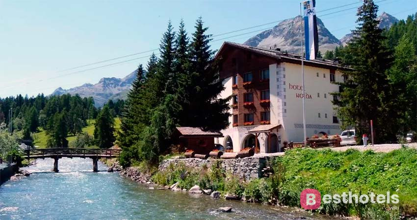 Hotel Nolda - спокойное место в Санкт-Мориц для райского отдыха