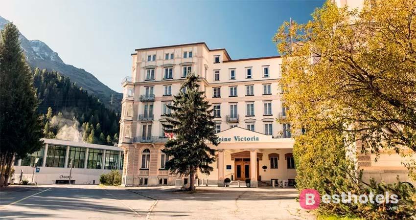 Reine Victoria - изящный гостиничный комплекс в Санкт-Мориц