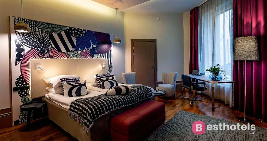 Glo Hotel Kluuvi - элегантный гостиничный комплекс в Хельсинки
