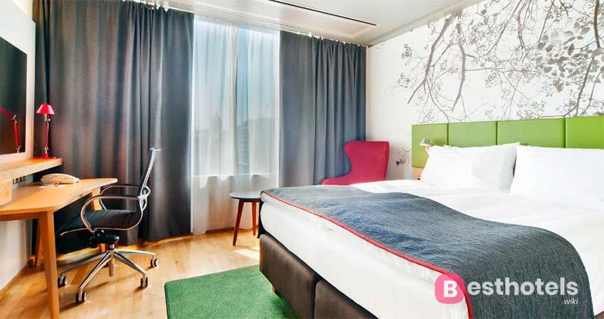 Holiday Inn Helsinki - изысканный гостиничный комплекс в Хельсинки
