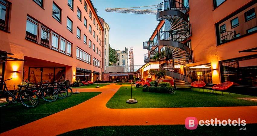 Hôtel F6 - неповторимое место в Хельсинки